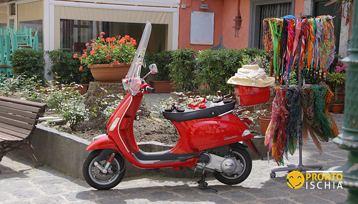 Girare Ischia in Scooter